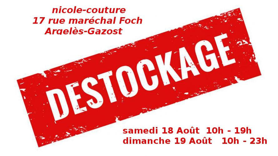 déstockage à Argelès-Gazost